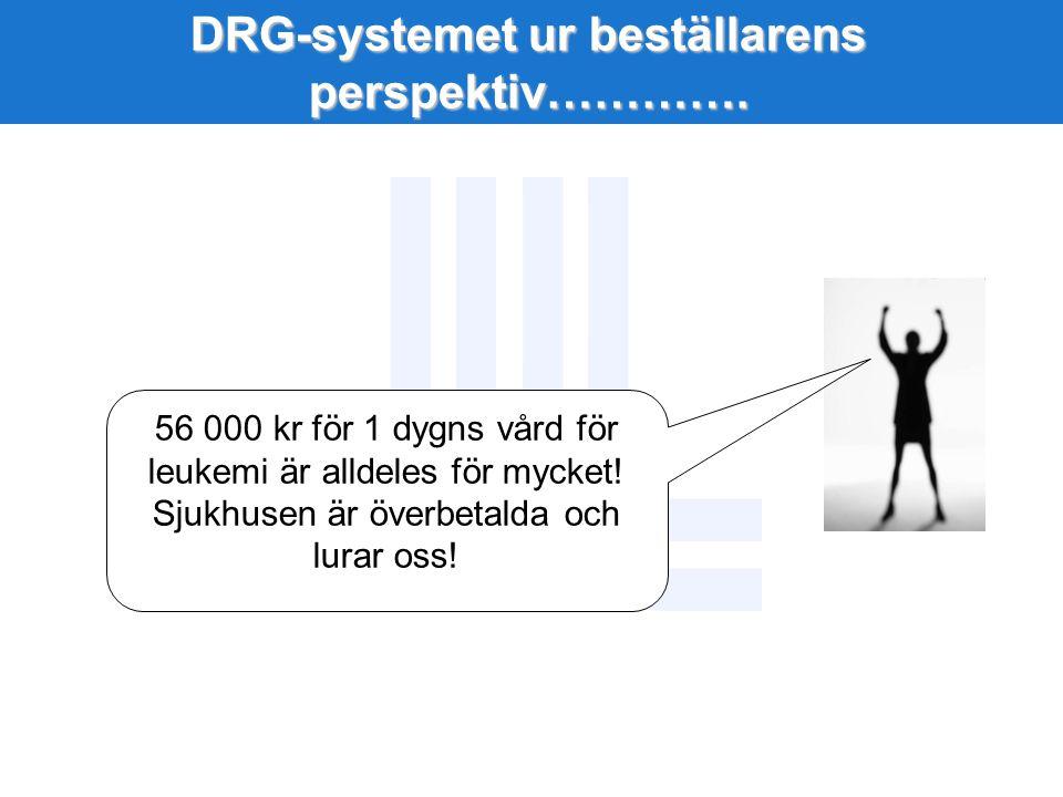 DRG-systemet ur beställarens perspektiv………….