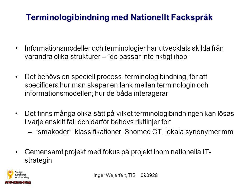 Terminologibindning med Nationellt Fackspråk