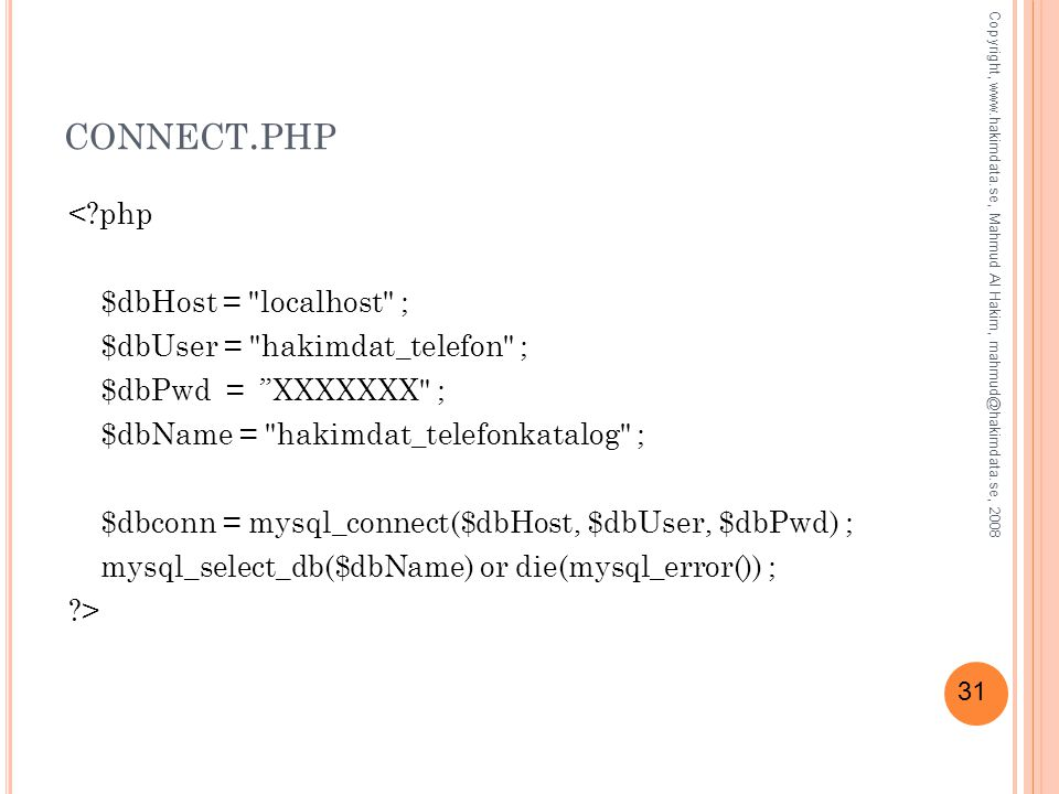 connect.php