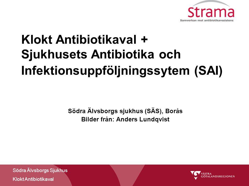 Södra Älvsborgs sjukhus (SÄS), Borås Bilder från: Anders Lundqvist