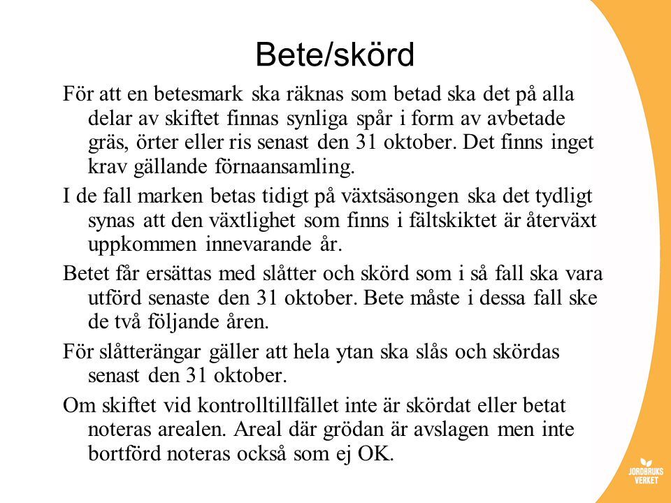 Bete/skörd