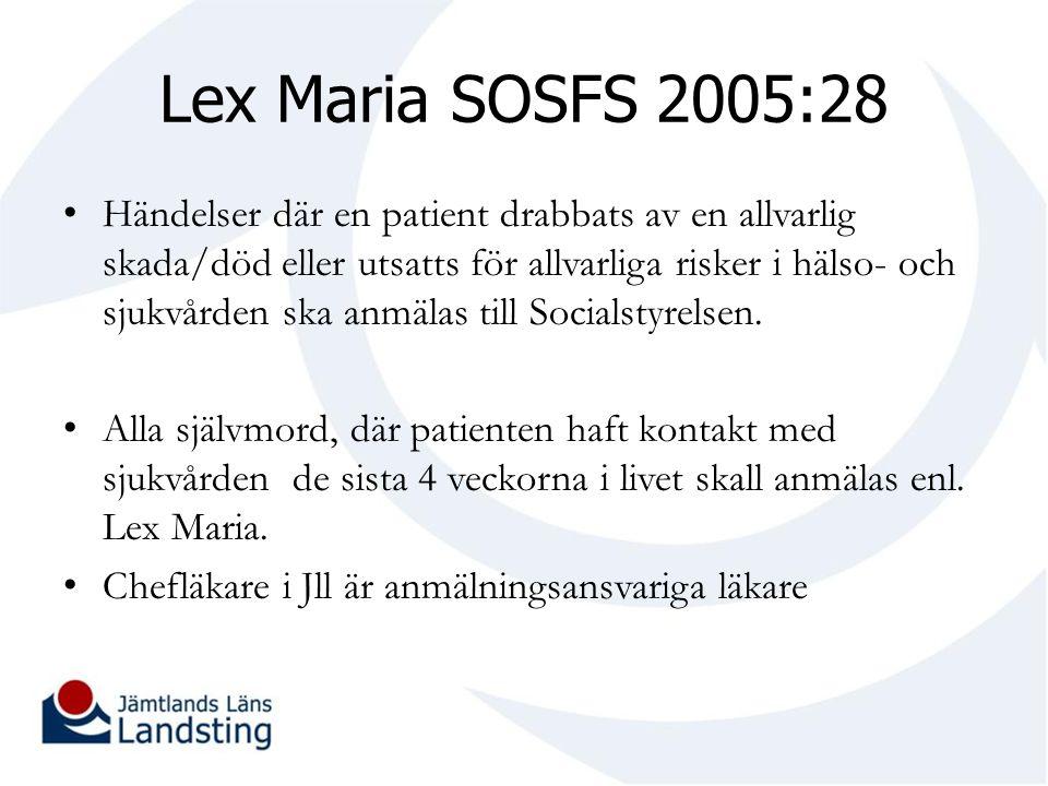 Lex Maria SOSFS 2005:28