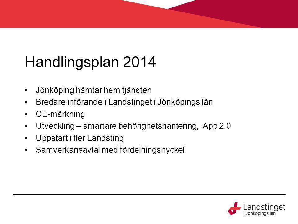 Handlingsplan 2014 Jönköping hämtar hem tjänsten