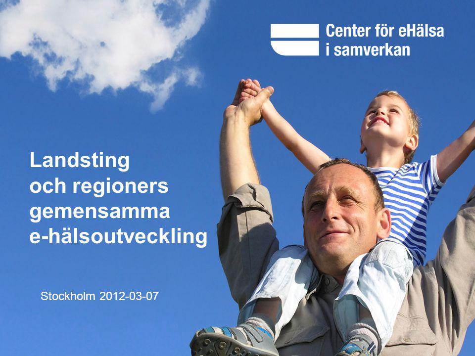 och regioners gemensamma e-hälsoutveckling