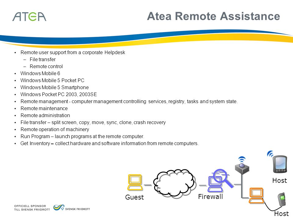 Atea Remote Assistance