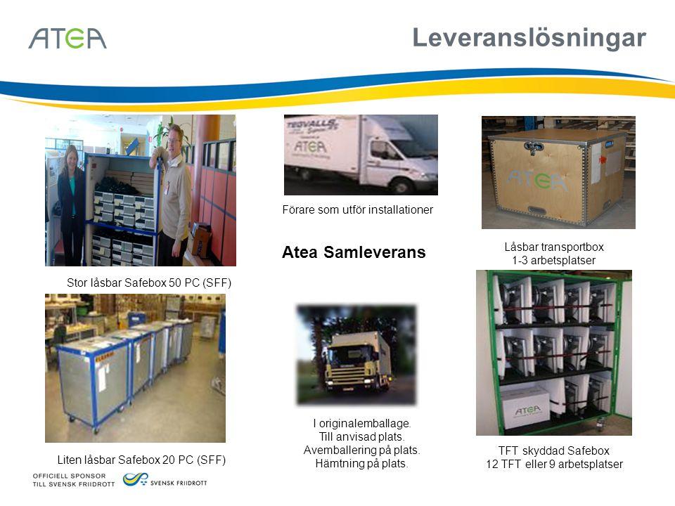Leveranslösningar Atea Samleverans Förare som utför installationer
