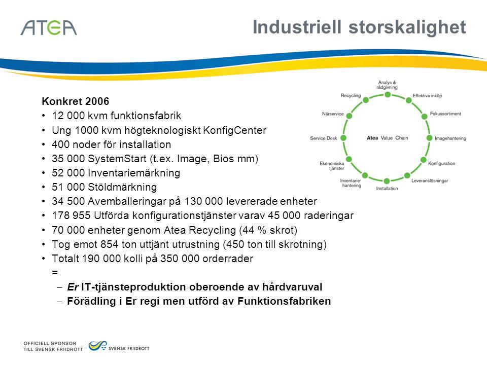Industriell storskalighet