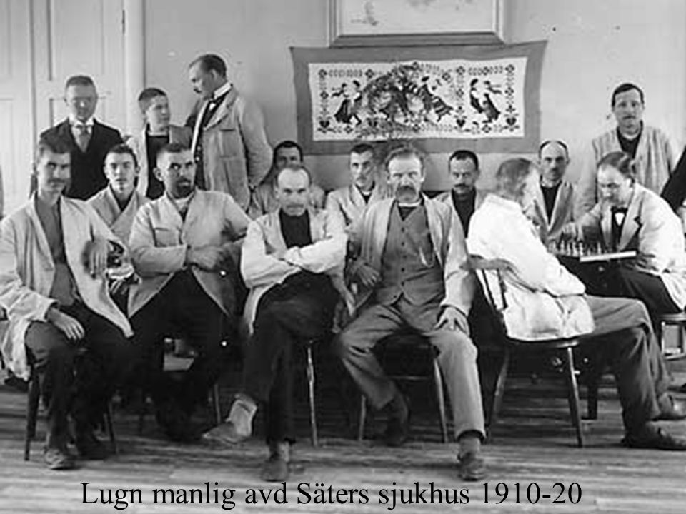 Lugn manlig avd Säters sjukhus 1910-20