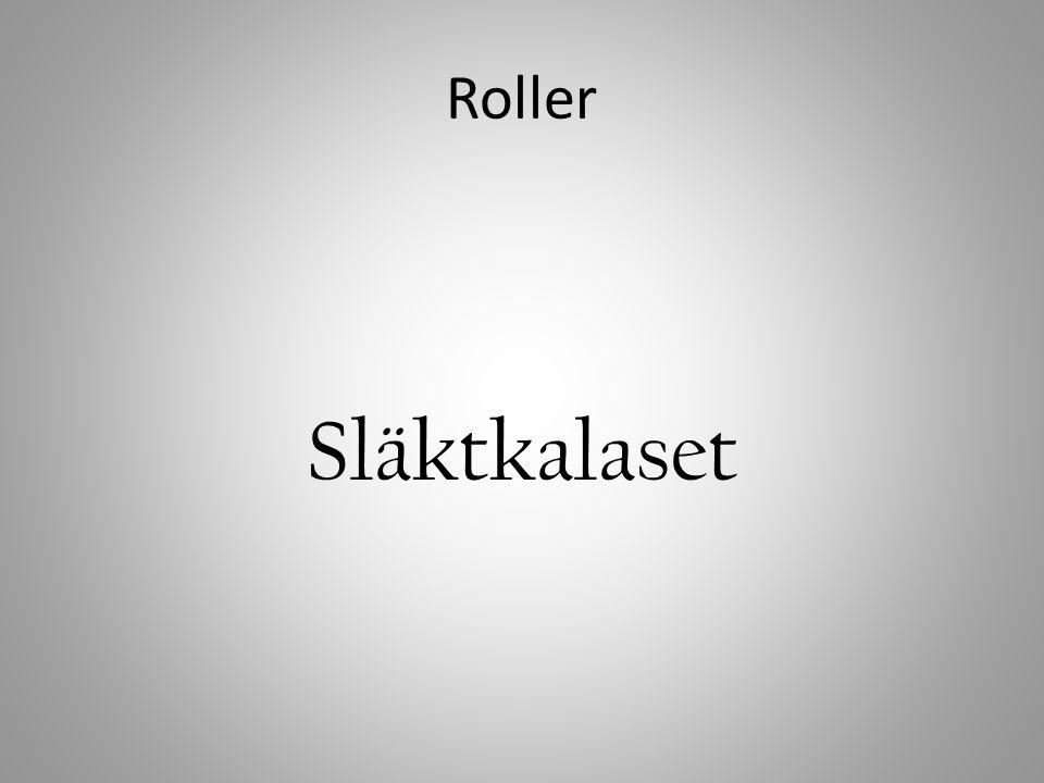 Roller Släktkalaset
