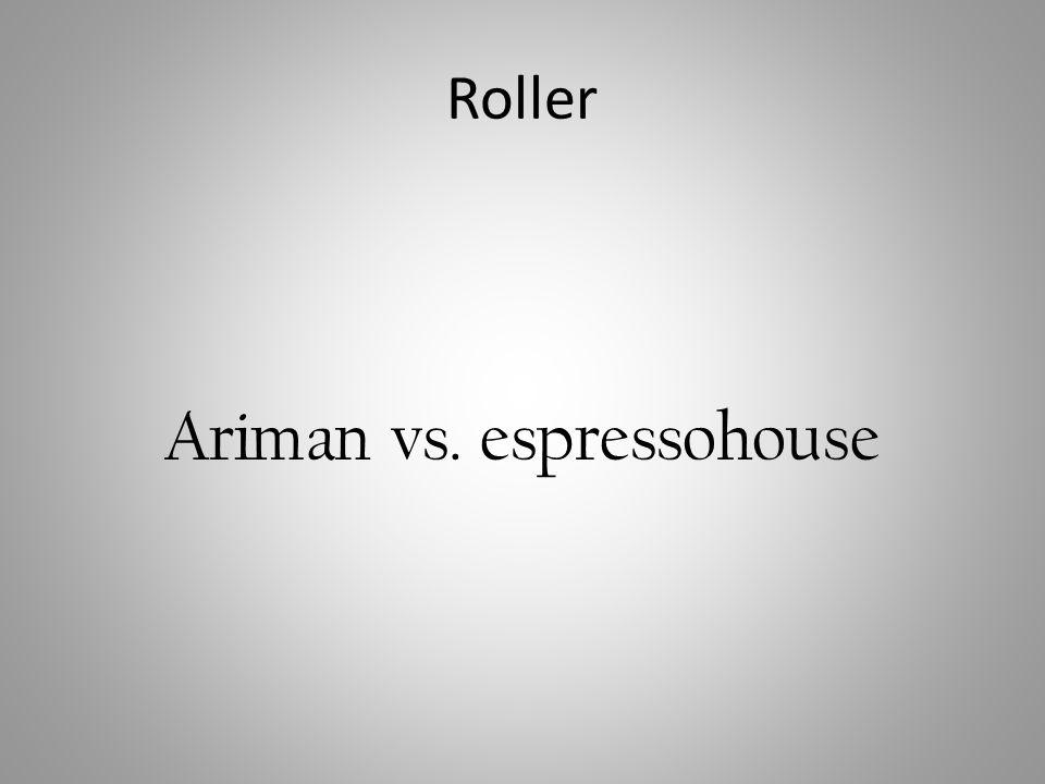 Ariman vs. espressohouse