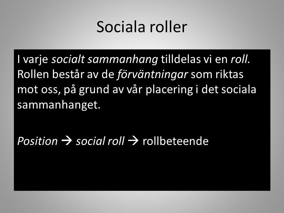Sociala roller