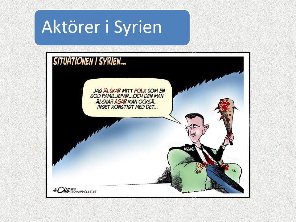 Aktörer i Syrien
