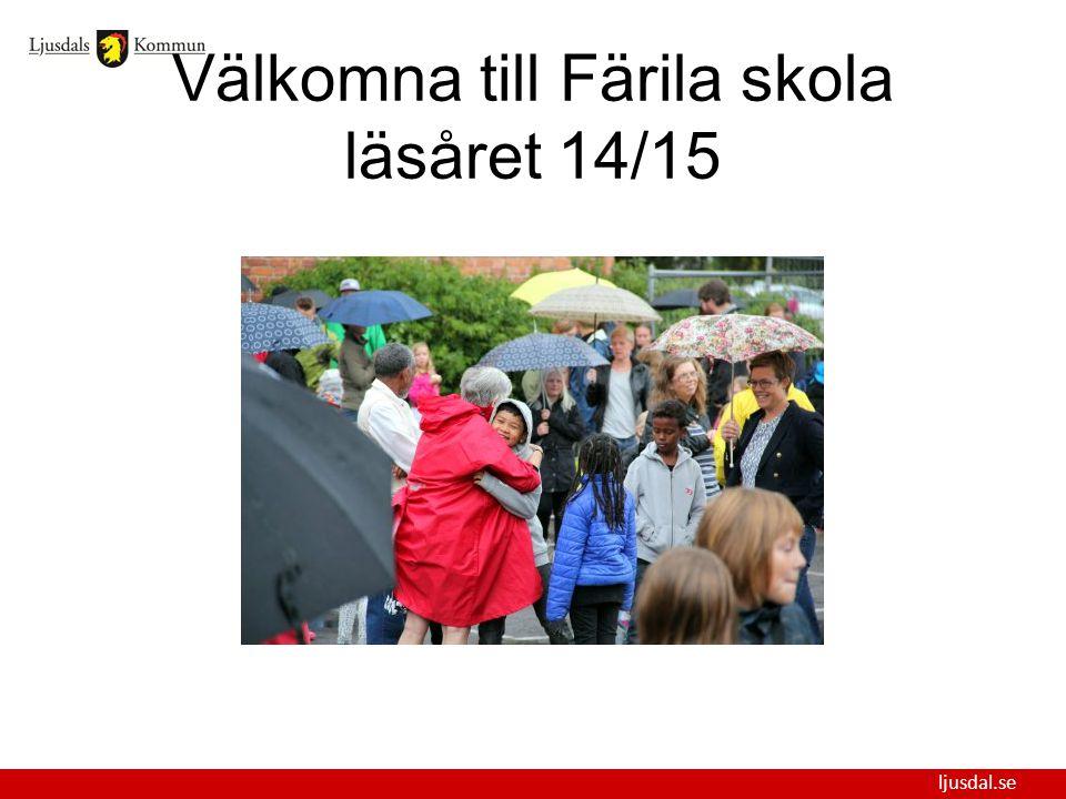 Välkomna till Färila skola läsåret 14/15