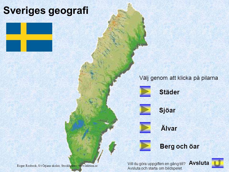 Roger Rosbeck, S:t Örjans skolor, Stockholm – www.lektion.se