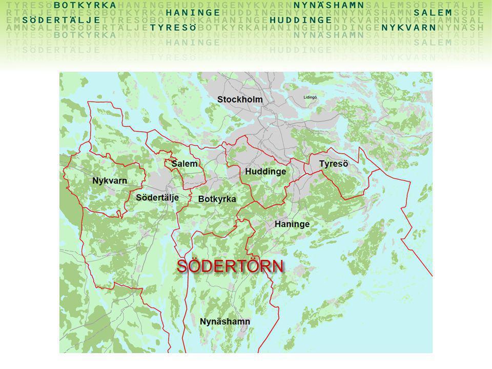 Om det är någon som inte vet vad Södertörn är så är det åtta kommuner söder om Stockholm.