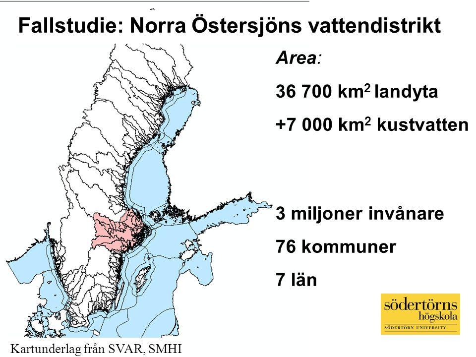Fallstudie: Norra Östersjöns vattendistrikt