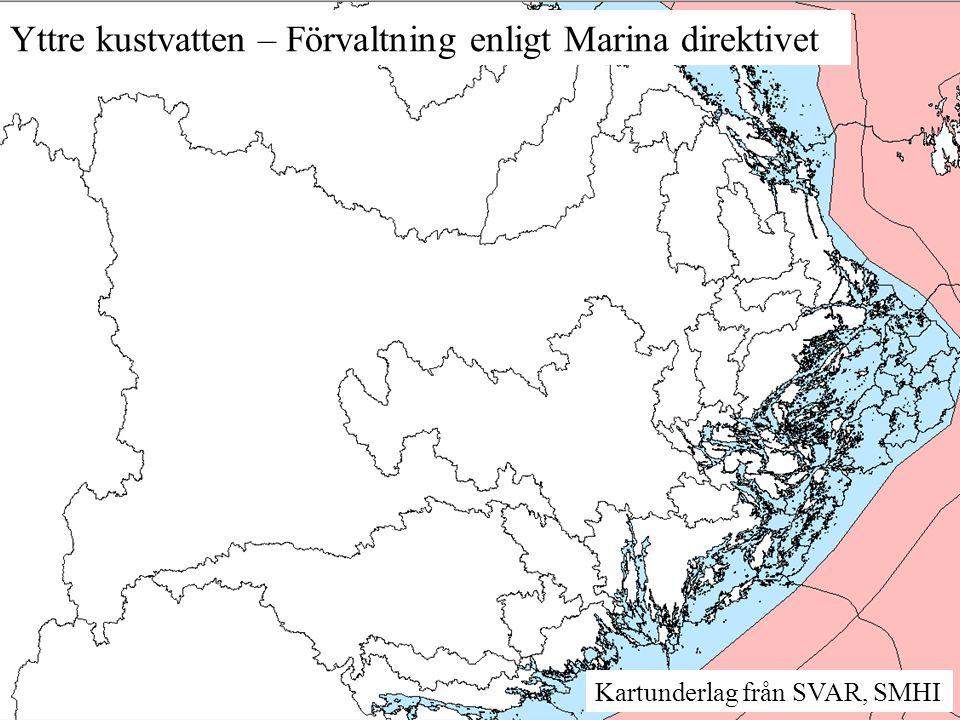 Yttre kustvatten – Förvaltning enligt Marina direktivet