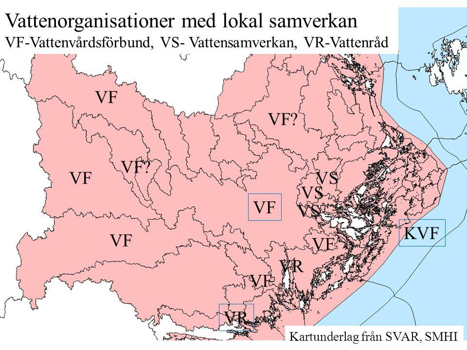 Vattenorganisationer med lokal samverkan
