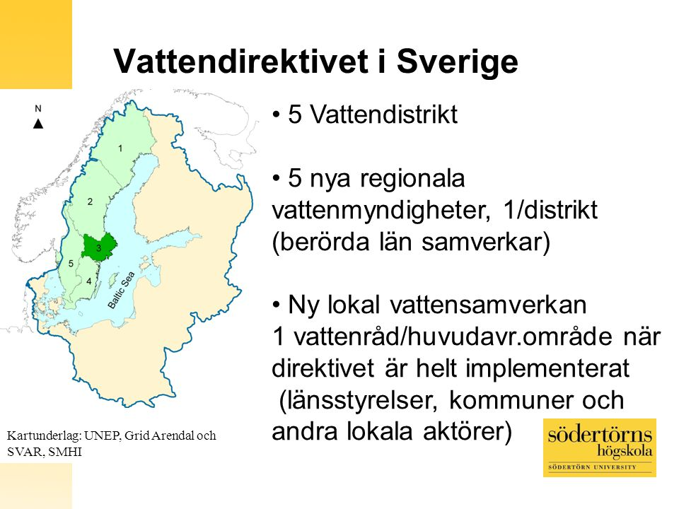 Vattendirektivet i Sverige