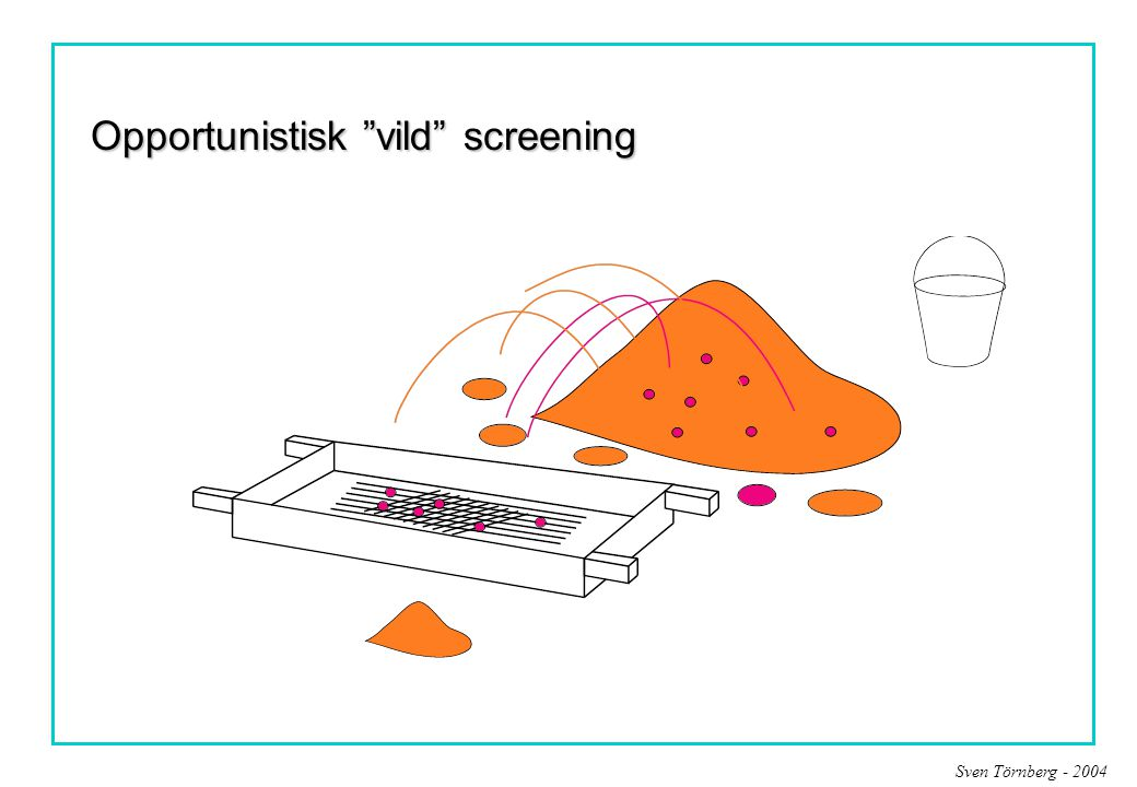 Opportunistisk vild screening