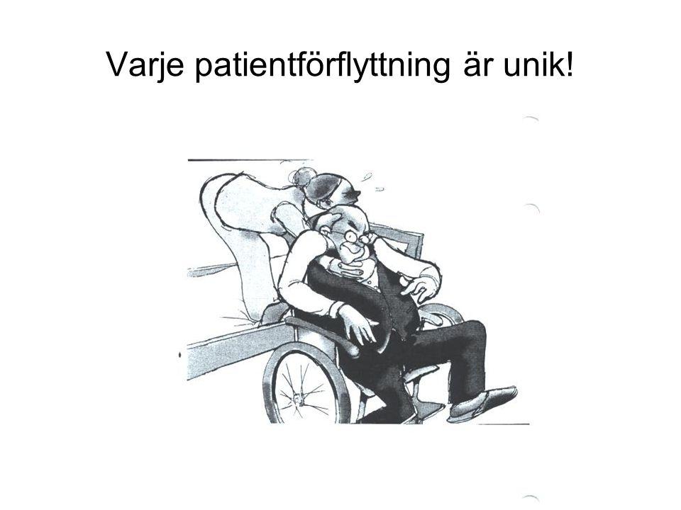 Varje patientförflyttning är unik!