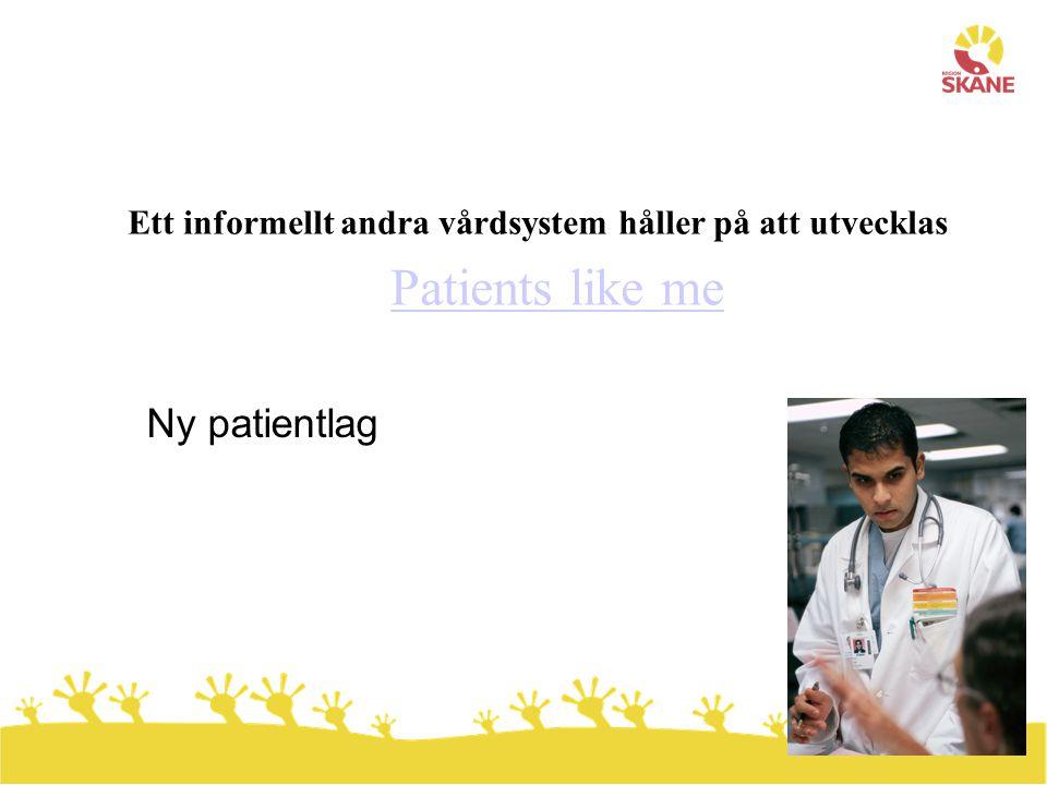 Ett informellt andra vårdsystem håller på att utvecklas