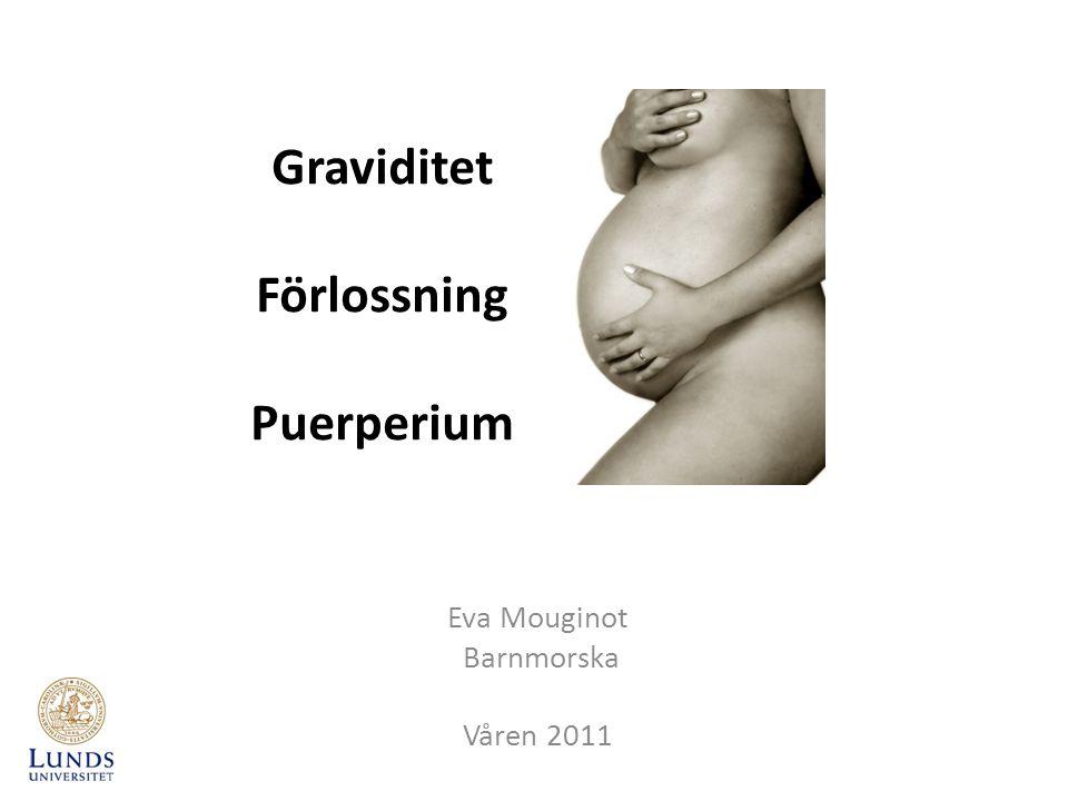 Graviditet Förlossning Puerperium