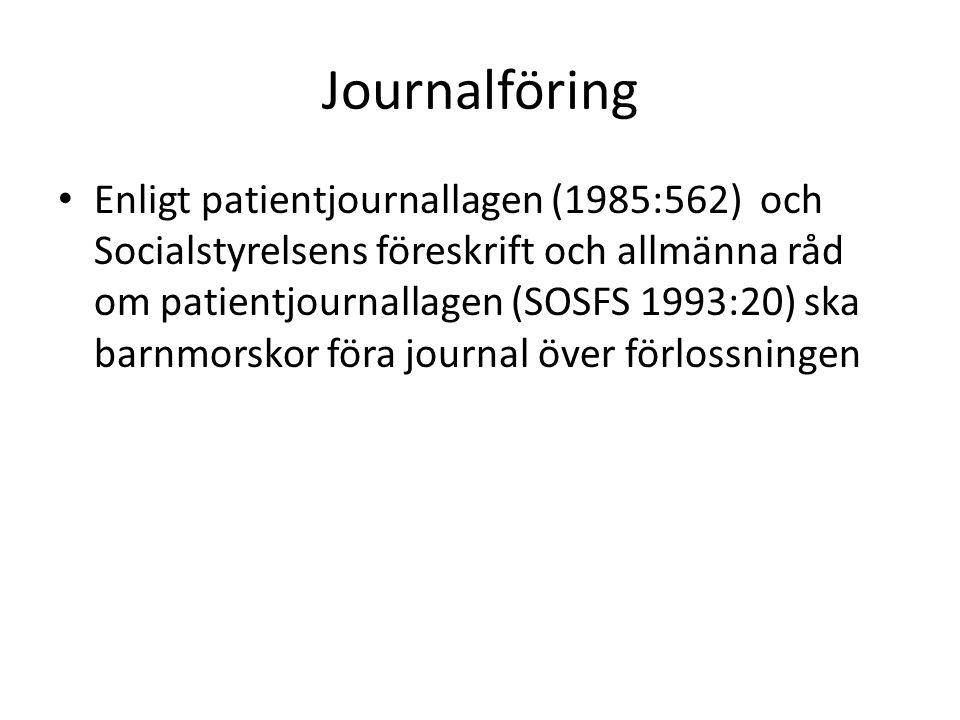 Journalföring