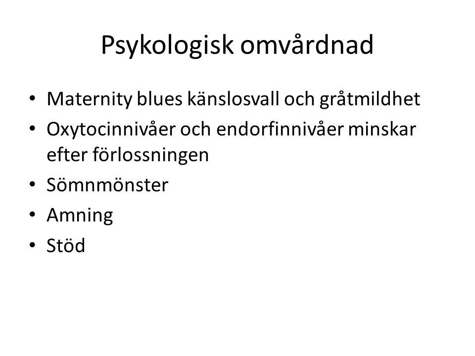 Psykologisk omvårdnad