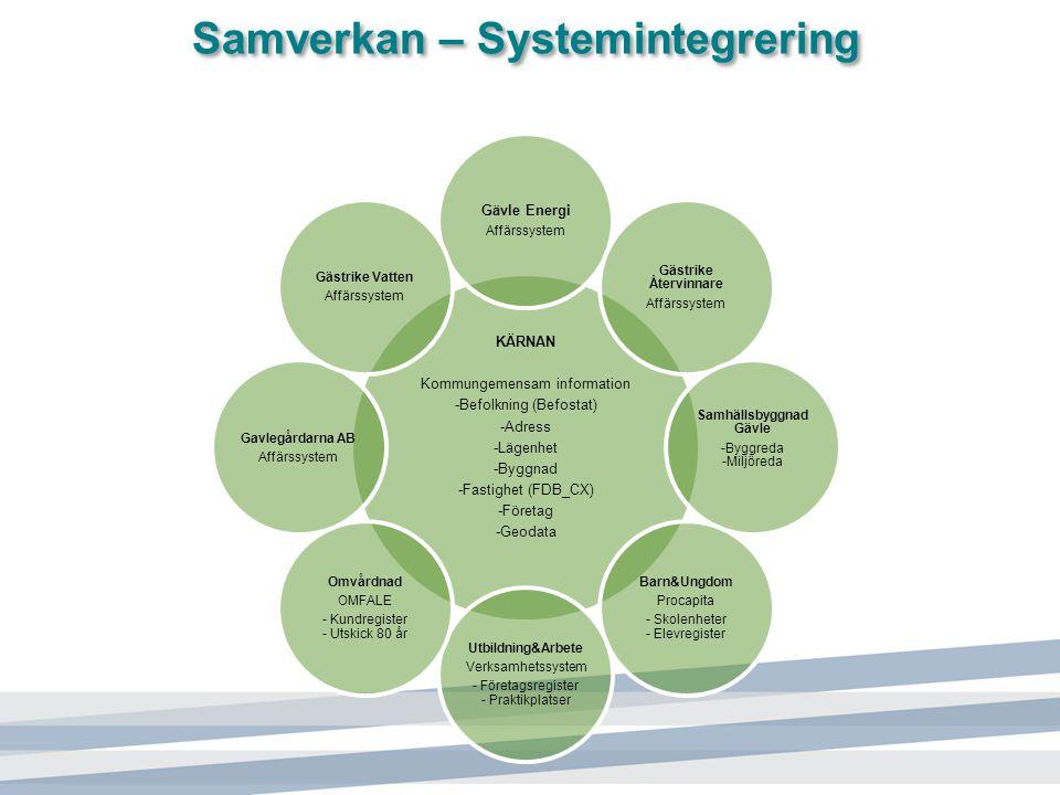 Samverkan – Systemintegrering