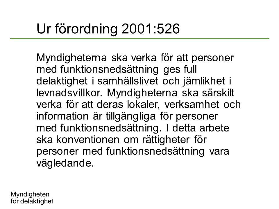 Ur förordning 2001:526