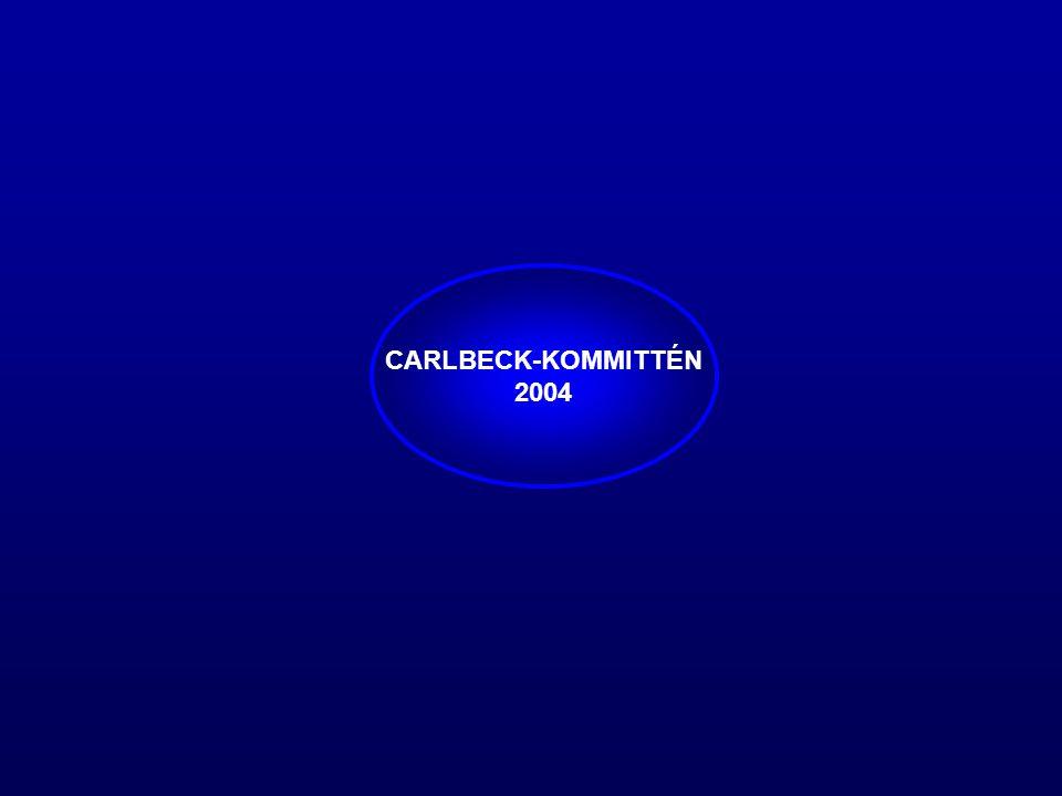 CARLBECK-KOMMITTÉN 2004