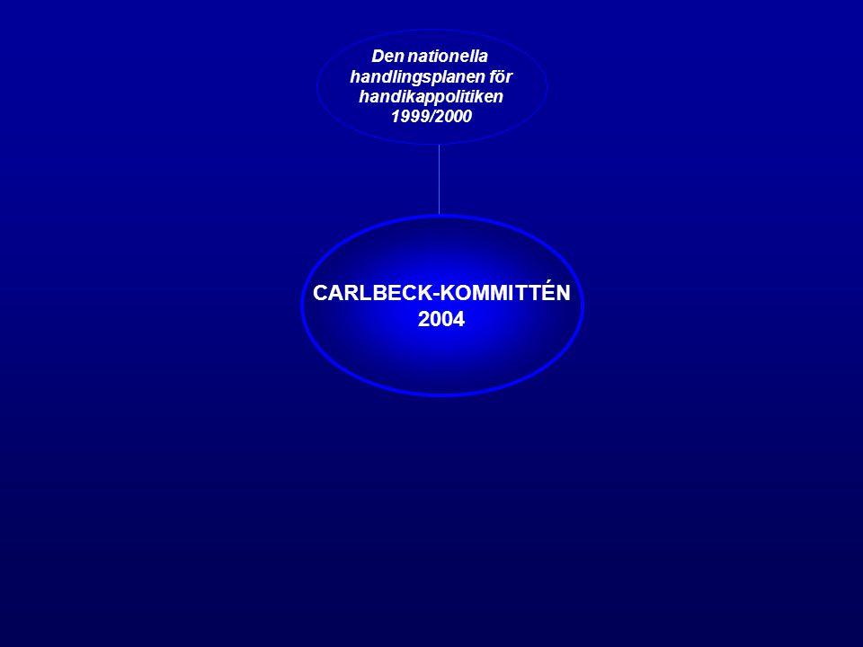 CARLBECK-KOMMITTÉN 2004 Den nationella handlingsplanen för