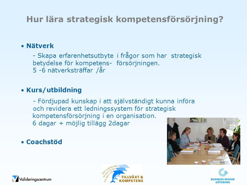 Hur lära strategisk kompetensförsörjning