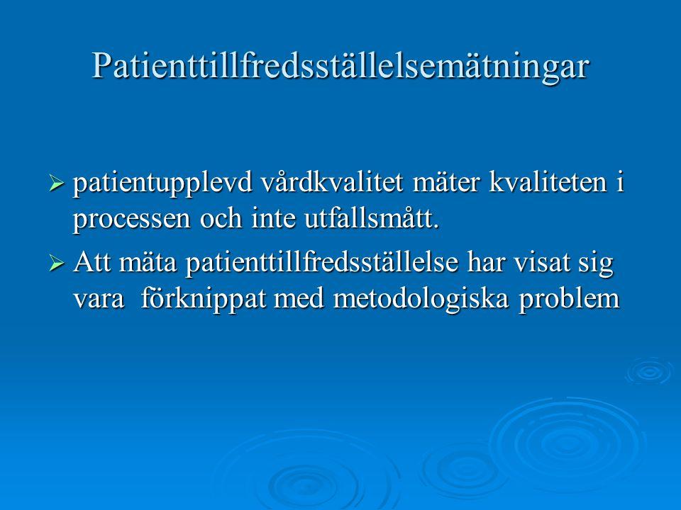 Patienttillfredsställelsemätningar