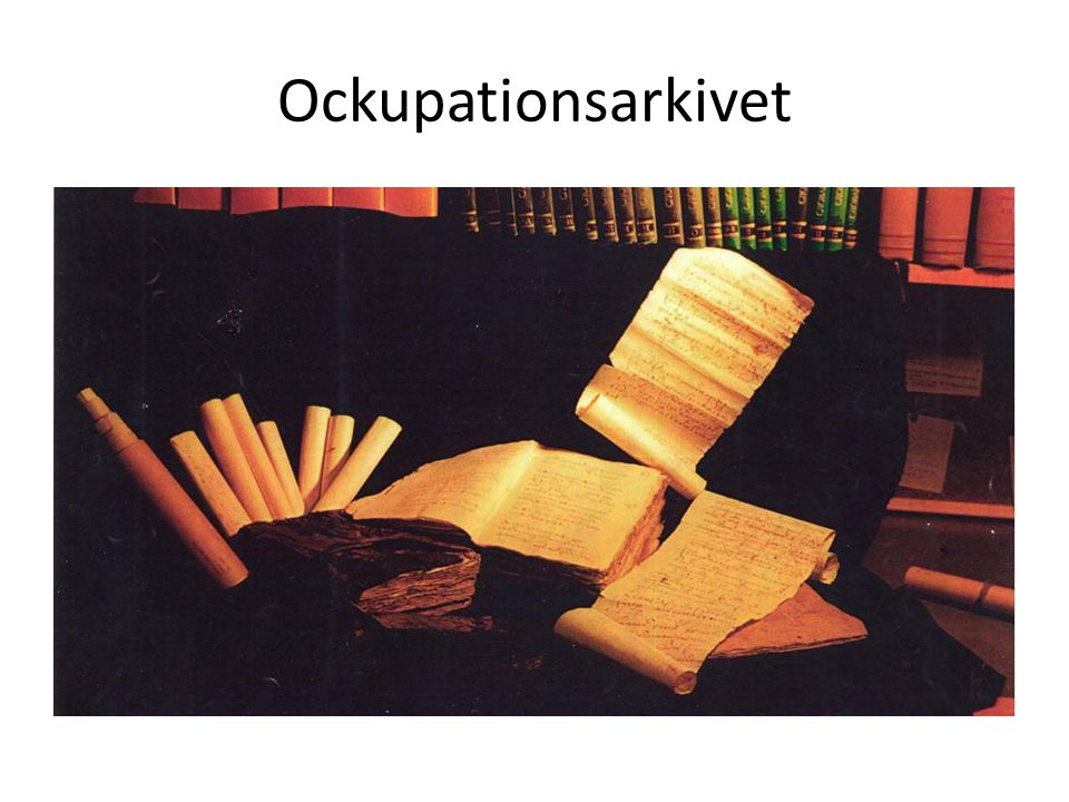 Ockupationsarkivet