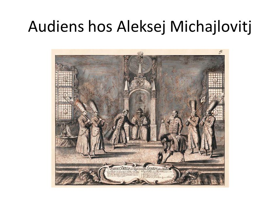 Audiens hos Aleksej Michajlovitj