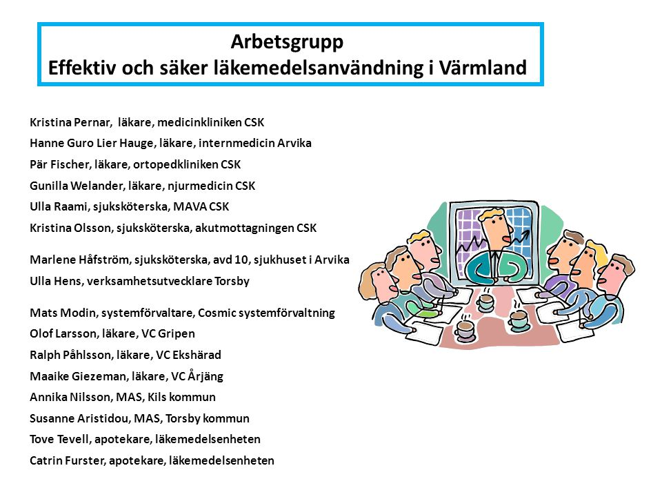 Effektiv och säker läkemedelsanvändning i Värmland
