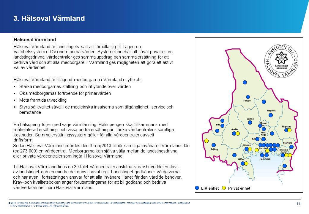 Hälsoval Värmland Uppdrag 2012