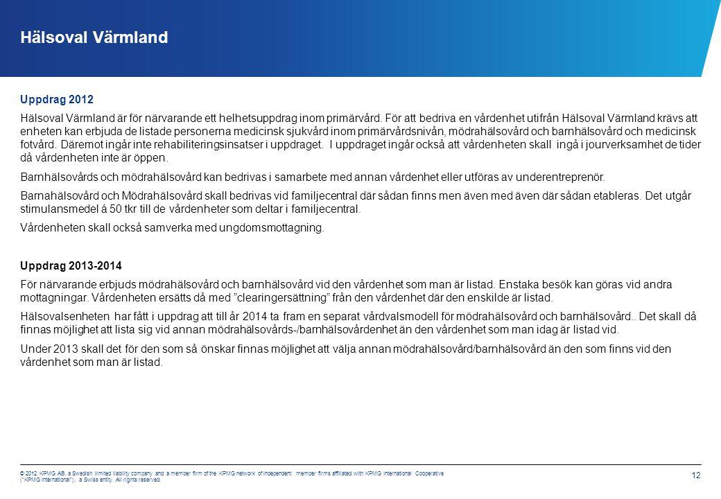 3.1 Beräkningsmodeller 2012