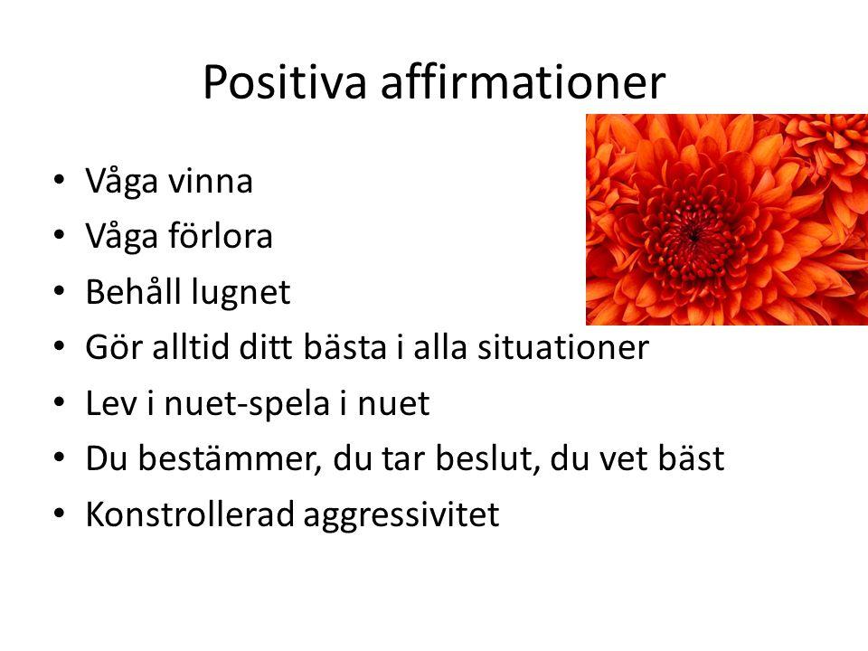 Positiva affirmationer
