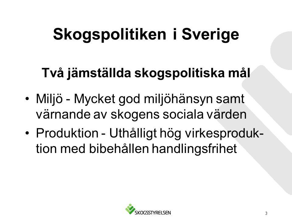 Skogspolitiken i Sverige