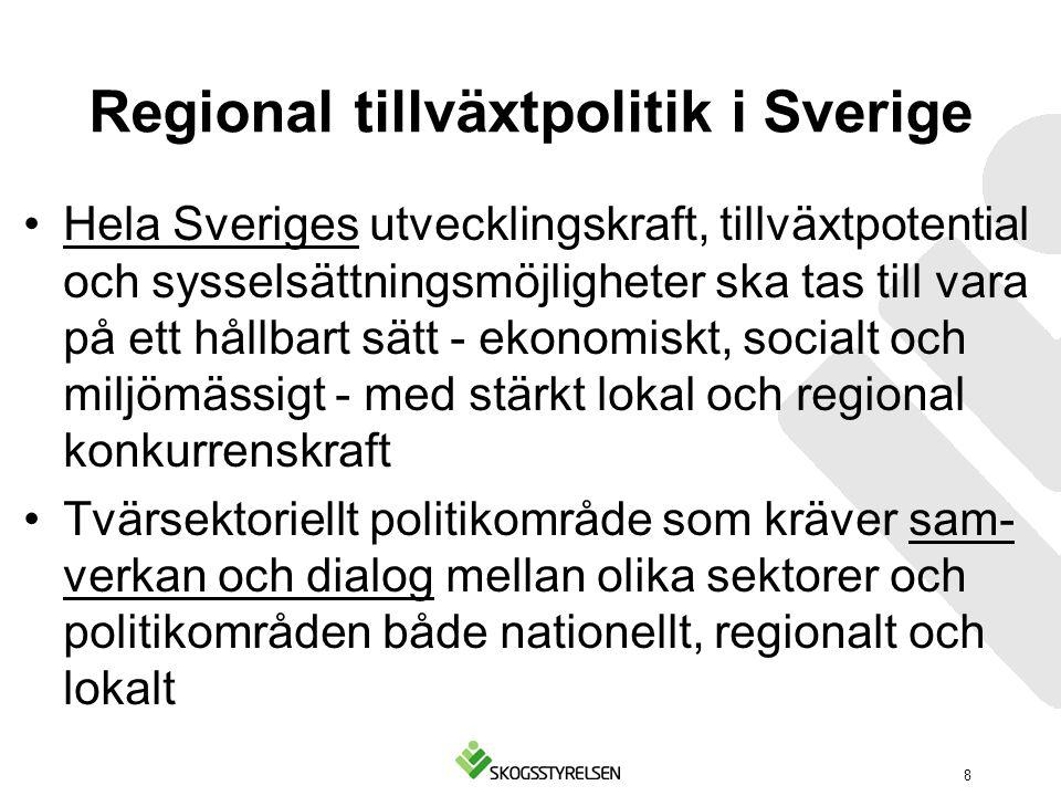 Regional tillväxtpolitik i Sverige