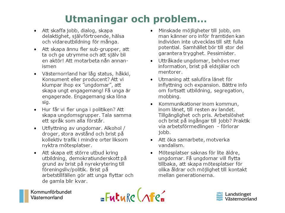 Utmaningar och problem…