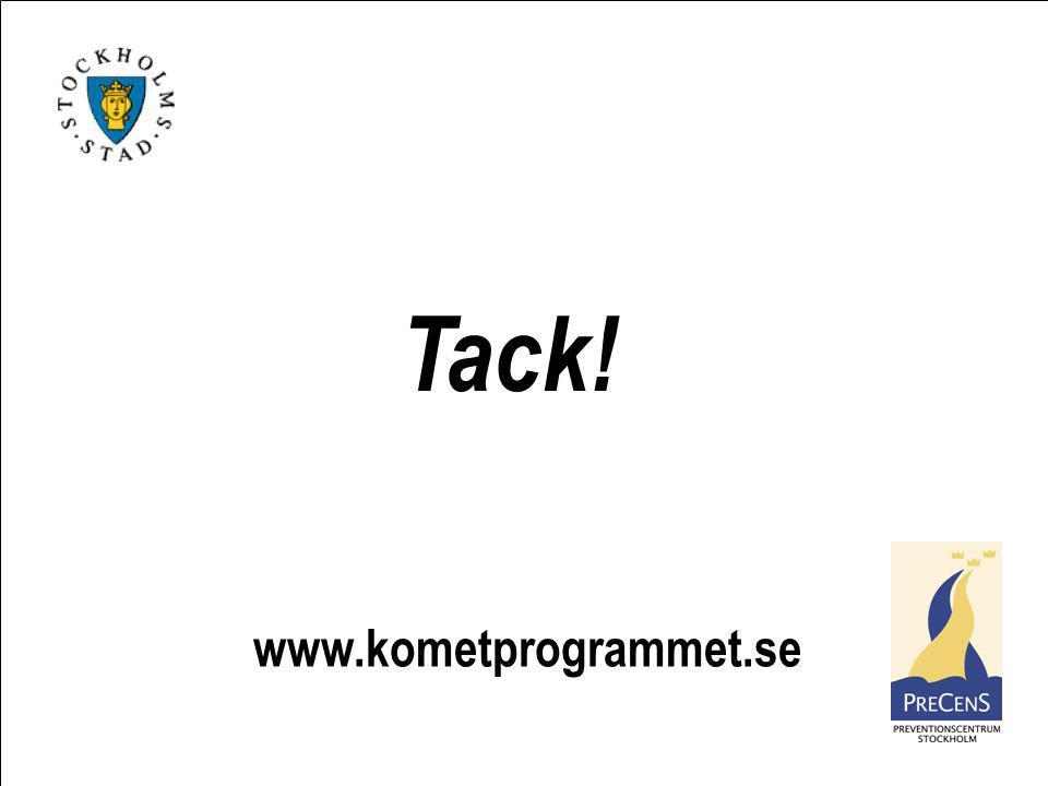 Tack! www.kometprogrammet.se