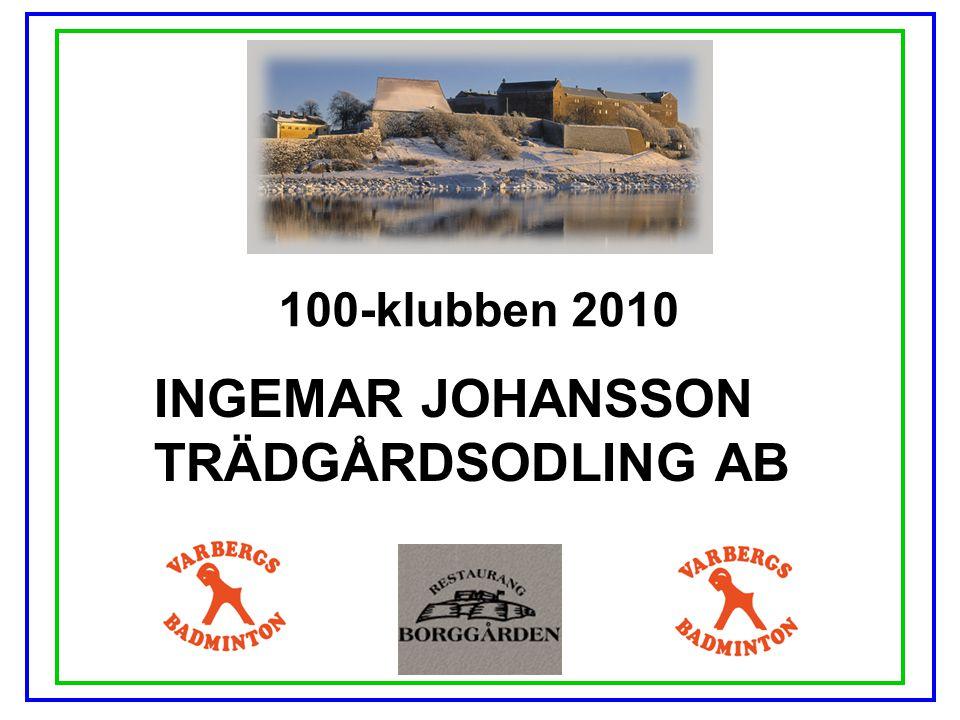 INGEMAR JOHANSSON TRÄDGÅRDSODLING AB