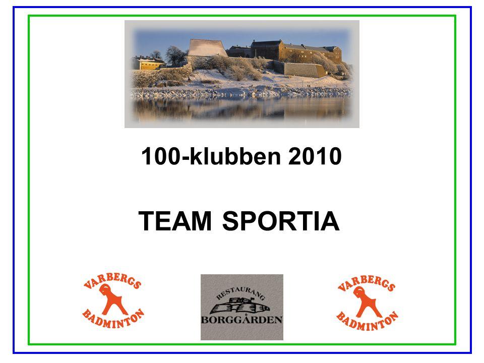 100-klubben 2010 TEAM SPORTIA
