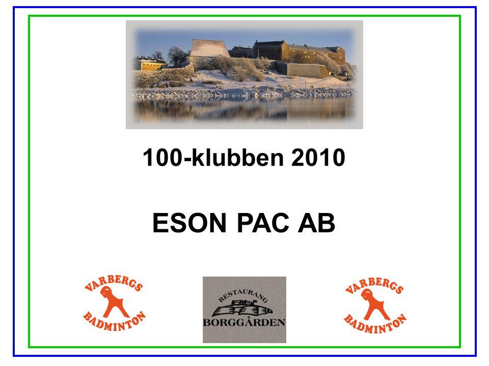 100-klubben 2010 ESON PAC AB