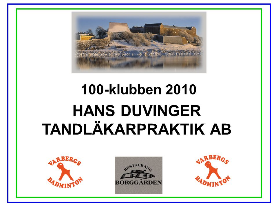 HANS DUVINGER TANDLÄKARPRAKTIK AB