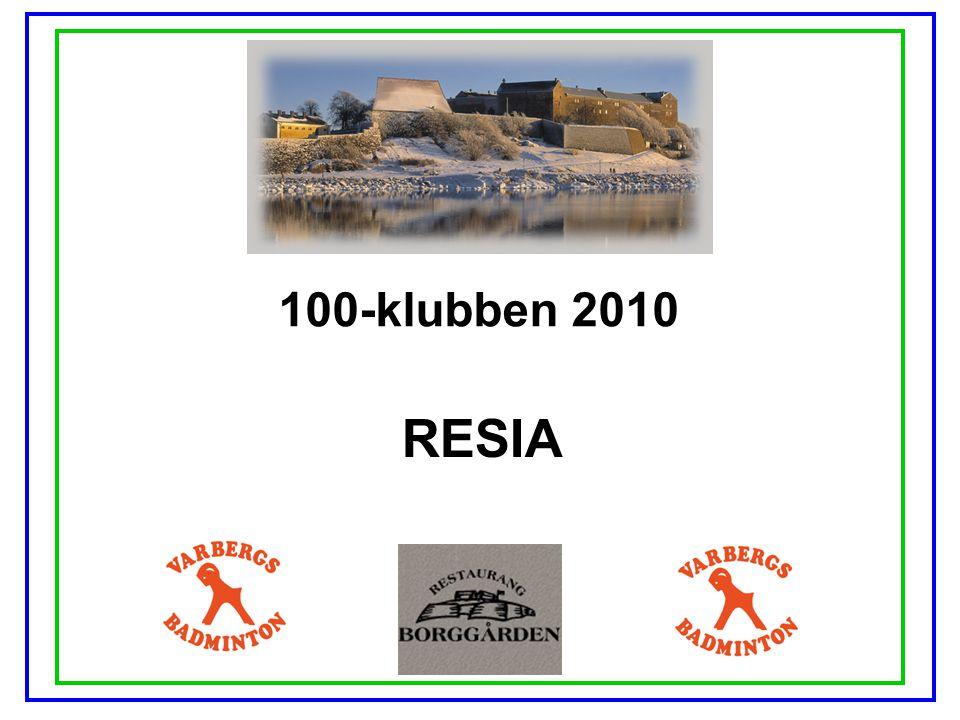 100-klubben 2010 RESIA